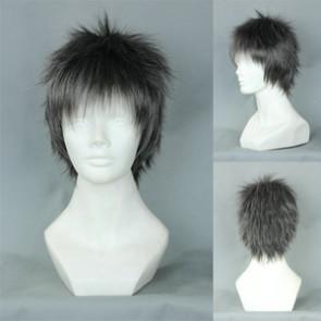Black 32cm Brothers Conflict Subaru Asahina Cosplay Wig
