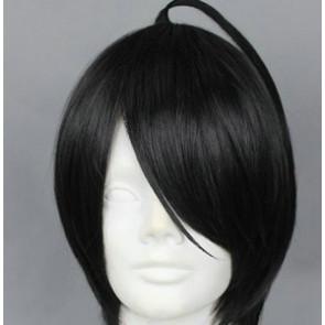 Black 32cm Brothers Conflict Azusa Asahina Cosplay Wig
