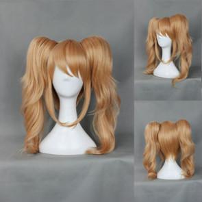 Brown 50cm Danganronpa: Trigger Happy Havoc Junko Enoshima Cosplay Wig