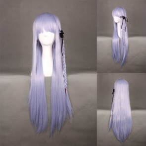Light Purple 80cm Danganronpa: Trigger Happy Havoc Kyouko Kirigiri Cosplay Wig