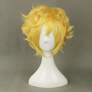 Yellow 30cm Karneval Yogi Cosplay Wig