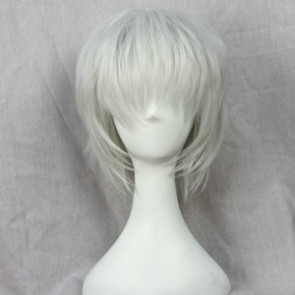 Silver Grey 38cm Tokyo Ghoul Ken Kaneki Cosplay Wig