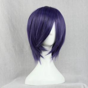 Purple 38cm Tokyo Ghoul Touka Kirishima Cosplay Wig