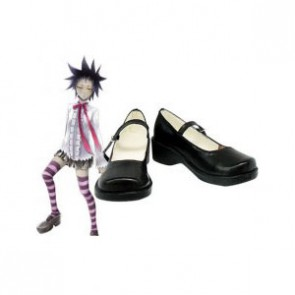 D.Gray Man Road Kamelot Imitation Leather Rubber Cosplay Shoes