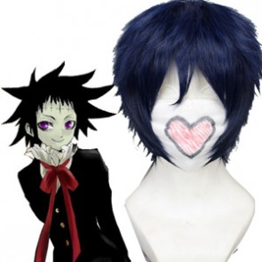 Dark Blue 30cm D.Gray Man Road Kamelot Cosplay Wig