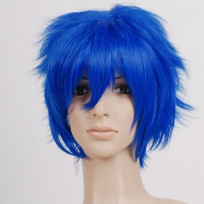 Dark Blue Kaito Cosplay Wig