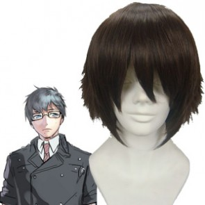 Dark Brown 30cm Ao No Exorcist Okumura Yukio Cosplay Wig
