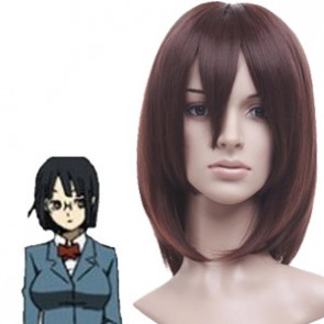 Dark Brown 40cm DuRaRaRa Sonohara Anri Cosplay Wig