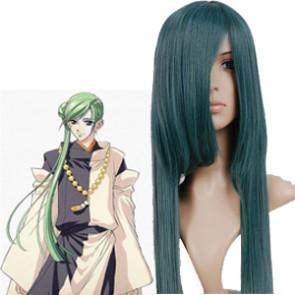 Deep Green 100cm Haruka Hachiyou Shou Abe no Yasuaki Nylon Cosplay Wig
