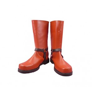 Dragon Ball Android 18 Imitation Leather Cosplay Boots