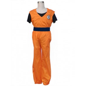 Dragon Ball Z Young Goku Cosplay Costume