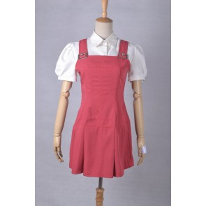 Beyond the Boundary Mirai Kuriyama Cosplay Overalls