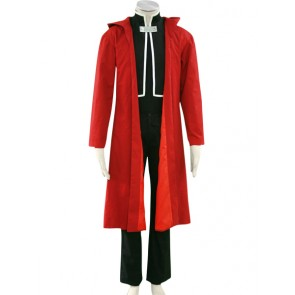 Fullmetal Alchemist Edward Red Cosplay Costume