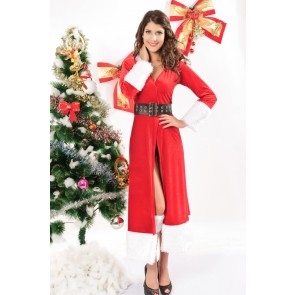 Elegant and Attractive Santa Women Christmas Costume