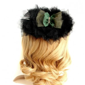 Exquisite Bow Floral Lady Lolita Hairpin