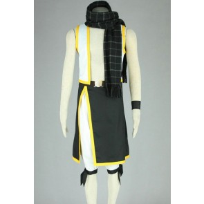 Fairy Tail Natsu Dragneel Cosplay Costume - 2nd Edition