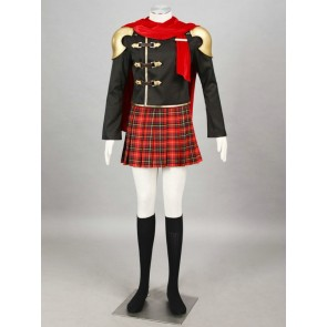 Final Fantasy Type-0 Suzaku Peristylium Class Zero Deuce Cosplay Costume