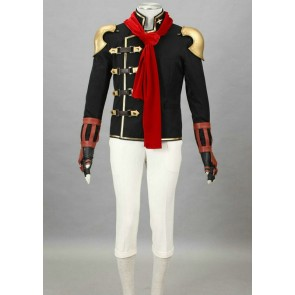 Final Fantasy Type-0 Suzaku Peristylium Class Zero Eight Cosplay Costume