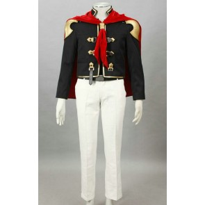 Final Fantasy Type-0 Suzaku Peristylium Class Zero King Cosplay Costume