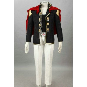 Final Fantasy Type-0 Suzaku Peristylium Class Zero Nine Cosplay Costume