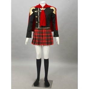 Final Fantasy Type-0 Suzaku Peristylium Class Zero Queen Cosplay Costume