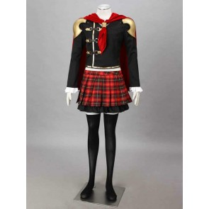Final Fantasy Type-0 Suzaku Peristylium Class Zero Rem Cosplay Costume