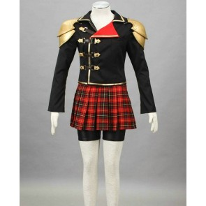 Final Fantasy Type-0 Suzaku Peristylium Class Zero Seven Cosplay Costume
