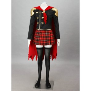 Final Fantasy Type-0 Suzaku Peristylium Class Zero Sice Cosplay Costume