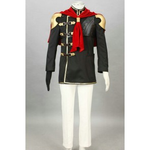 Final Fantasy Type-0 Suzaku Peristylium Class Zero Trey Cosplay Costume