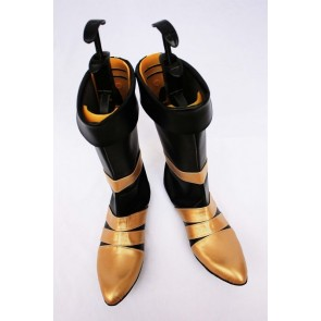 Final Fantasy VII Vincent Imitation Leather Cosplay Boots