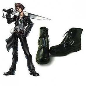 Final Fantasy VIII 8 Squall Leonhart Cosplay Shoes
