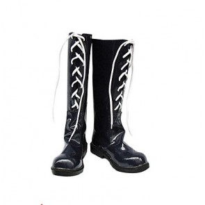 Final Fantasy X Yuna Imitation Leather Cosplay Boots