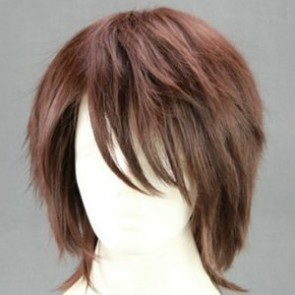 Brown 35cm Final Fantasy XIII Noel Kreiss Cosplay Wig
