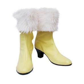 Final Fantasy XIII Oerba Dia Vanille Cosplay Boots