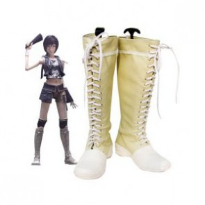 Final Fantasy Yuffie Kisaragi Imitation Leather Cosplay Boots