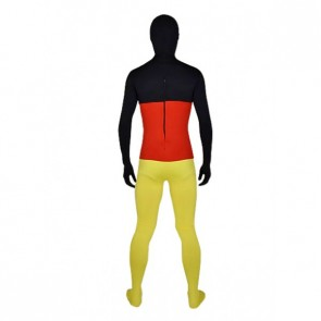 Flag of German Full Body Lycra Spandex Zentai Suit