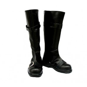 Gin Tama Sakata Gintoki Imitation Leather Cosplay Boots