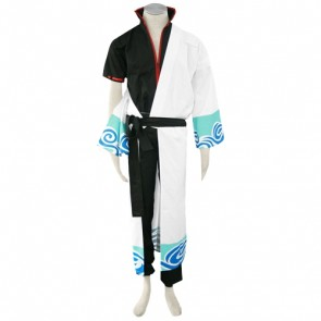 Gintama Gintoki Sakata Cosplay Costume