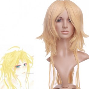 Gold 100cm ZONE-00 BENTEN Nylon Cosplay Wig