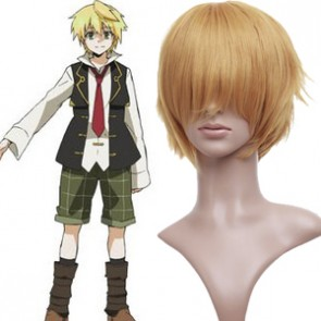 Gold 32cm Pandora Hearts Oz.vessalius Cosplay Wig