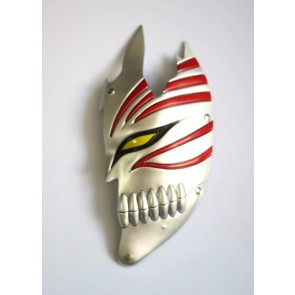 Gold Bleach Kurosaki Ichigo PVC Cosplay Half Mask