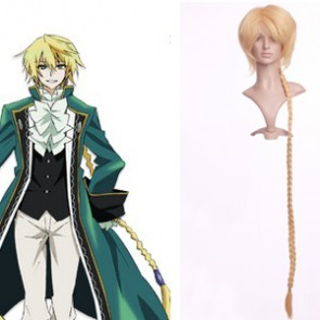 Golden 130cm Pandora Hearts Jack Vessalius Nylon Cosplay Wig