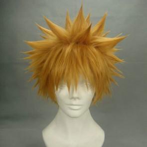 Golden 30cm Naurto Uzumaki Naruto Cosplay Wig