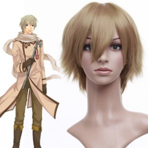 Golden 32cm Axis Powers Hetalia APH Russia Ivan Braginski Cosplay Wig