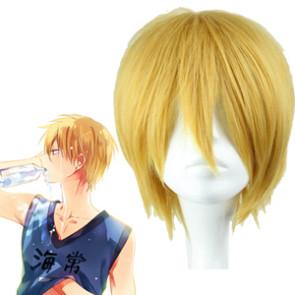 Golden 32cm Kuroko no basuke Kise Ryota Cosplay Wig