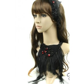 Gorgeous Black Gothic Lolita Necklace