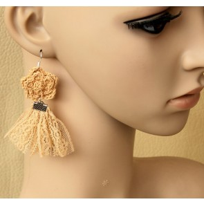 Gorgeous Floral Lady Lolita Earrings