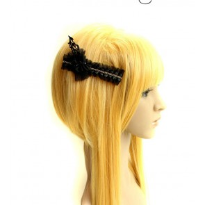 Gothic Black Lady Handmade Lolita Hairpin