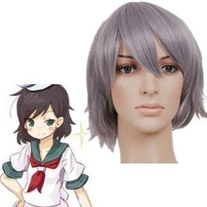 Gray 32cm Tonhou Project Captain Murasa Minamitsu Cosplay Wig