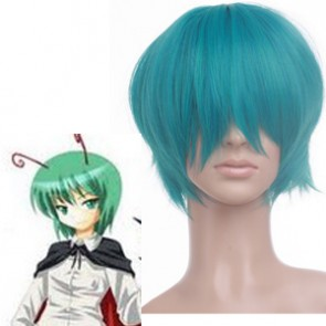 Green 30cm Tonhou Project Wriggle Nightbug Nylon Cosplay Wig